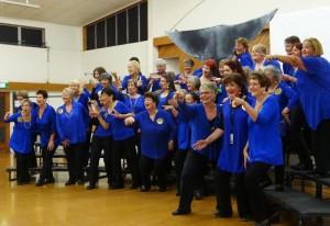 Nelson Bays harmony Chorus rehearse