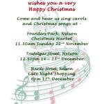 Christmas Concdert Flyer