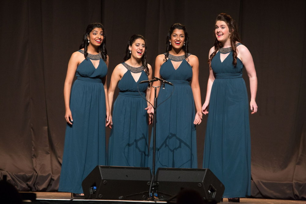 Zeal Quartet performs in national contest